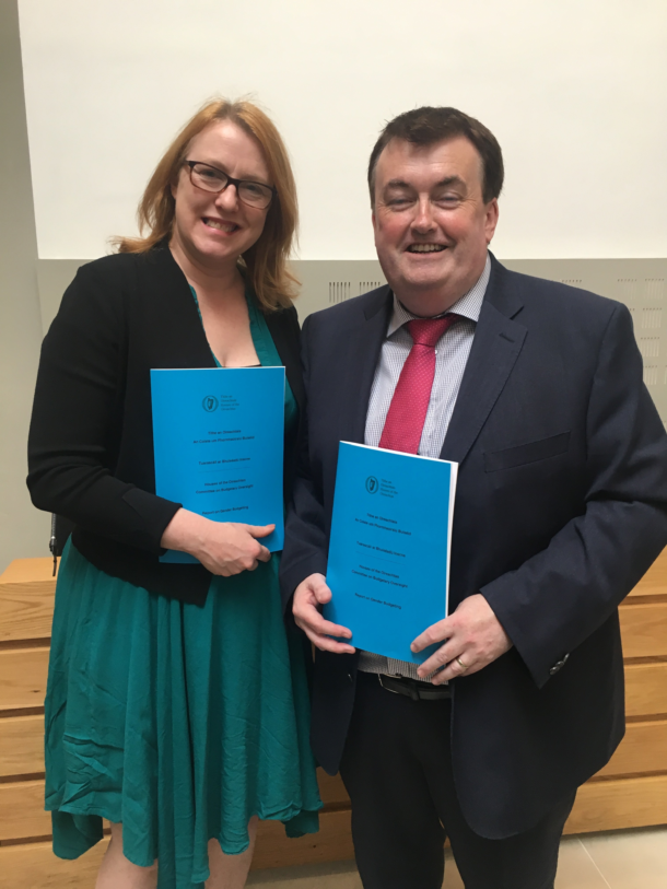 Gender Budget Report Launch with Colm Brophy T.D.