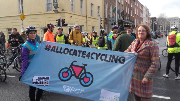 Allocate For Cycling Protest