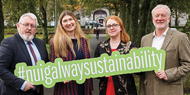 I was honoured to launch NUIGalway's innovative sustainability strategy which could make it one of the greenest, healthiest, smartest campuses in the world. I also welcome NUIGalway's divestment from fossil fuels and
