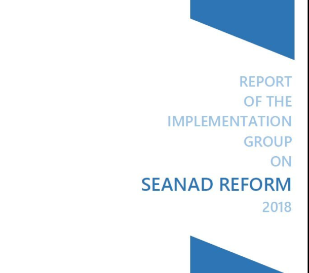 Seanad Reform Implementation Report
