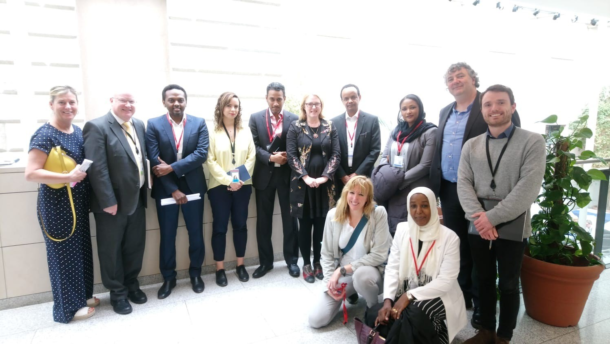 Members of the Oireachtas with members of the Irish-Sudanese community